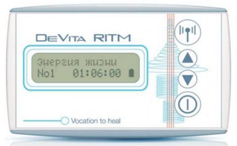 Прибор DeVita Ritm Base и его программы